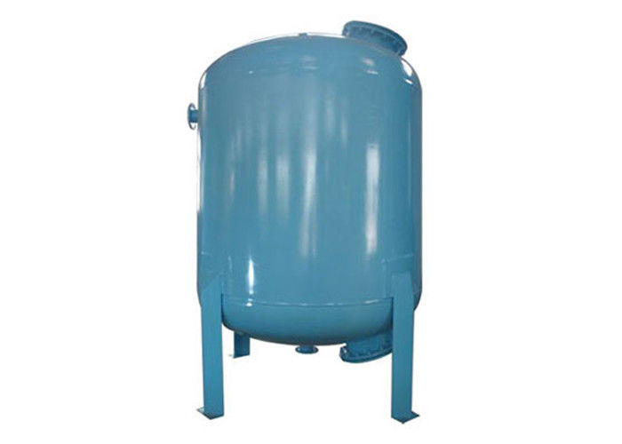 Defluorination Mechnical Tank Water Filter CS With Rubber Liner 1.0 Mpa 36 m3/H